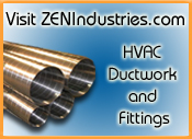 ZEN Industries Spiral HVAC Ductrwork Fabrication